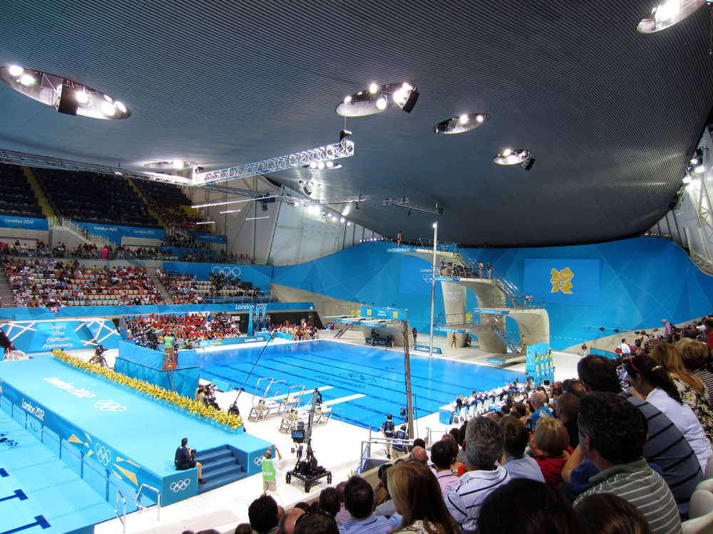 Tom Daley at London Olympics 2012 by London interior designers Callender Howorth