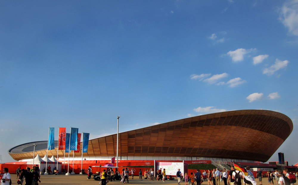 The Velodrome at London Olympic Park Image by London Interior designers Callender Howorth