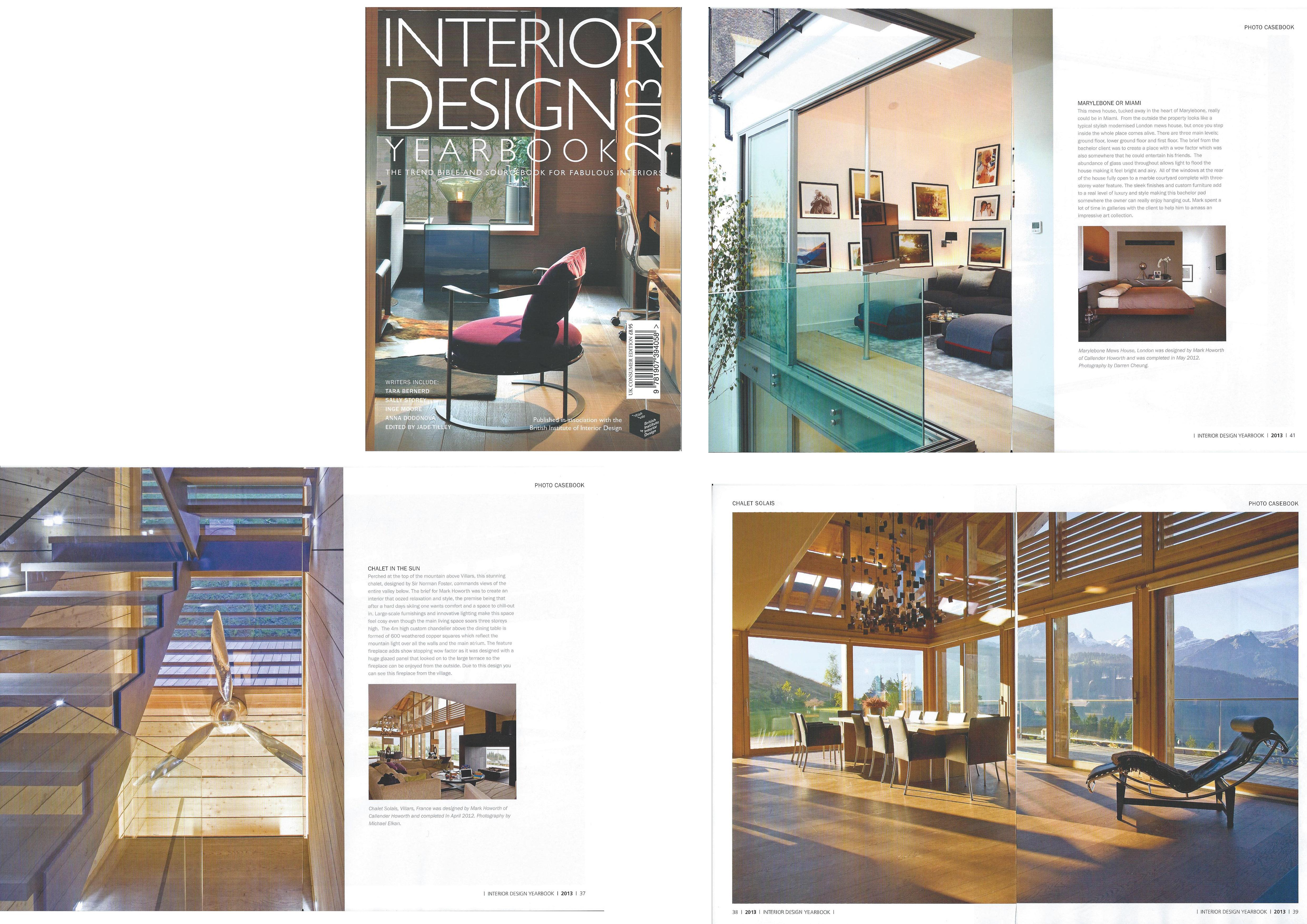 Interior design today yearbook callender howorth for Interior design yearbook