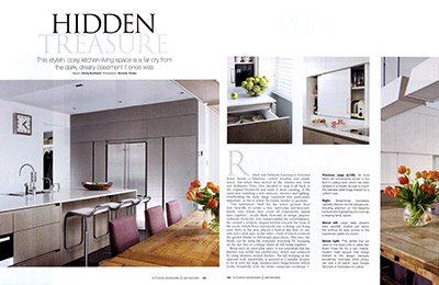 Islington basement conversion on KBB Magazine
