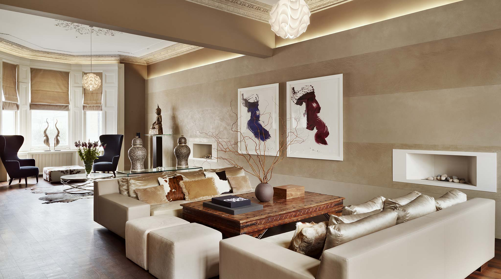 Kensington house high end interior design ch for Luxury home designers