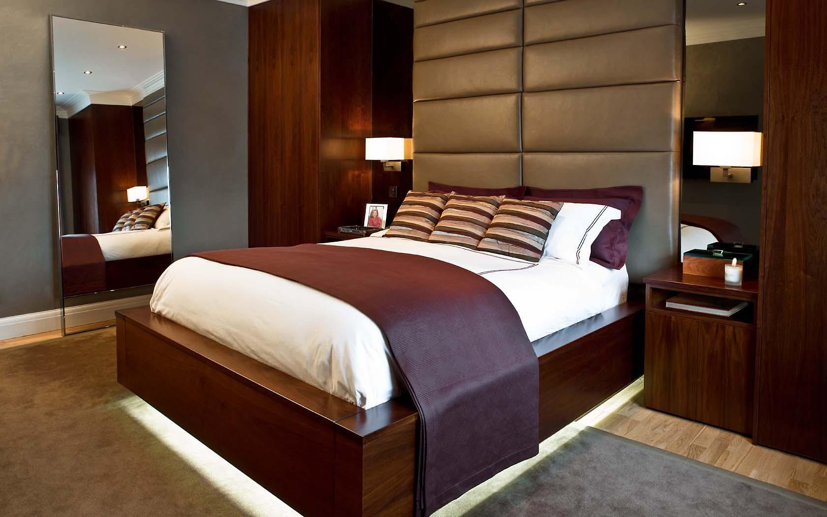 Bedroom Knightsbridge Penthouse
