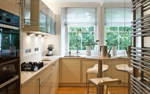 Kitchen Knightsbridge Penthouse Interior Design