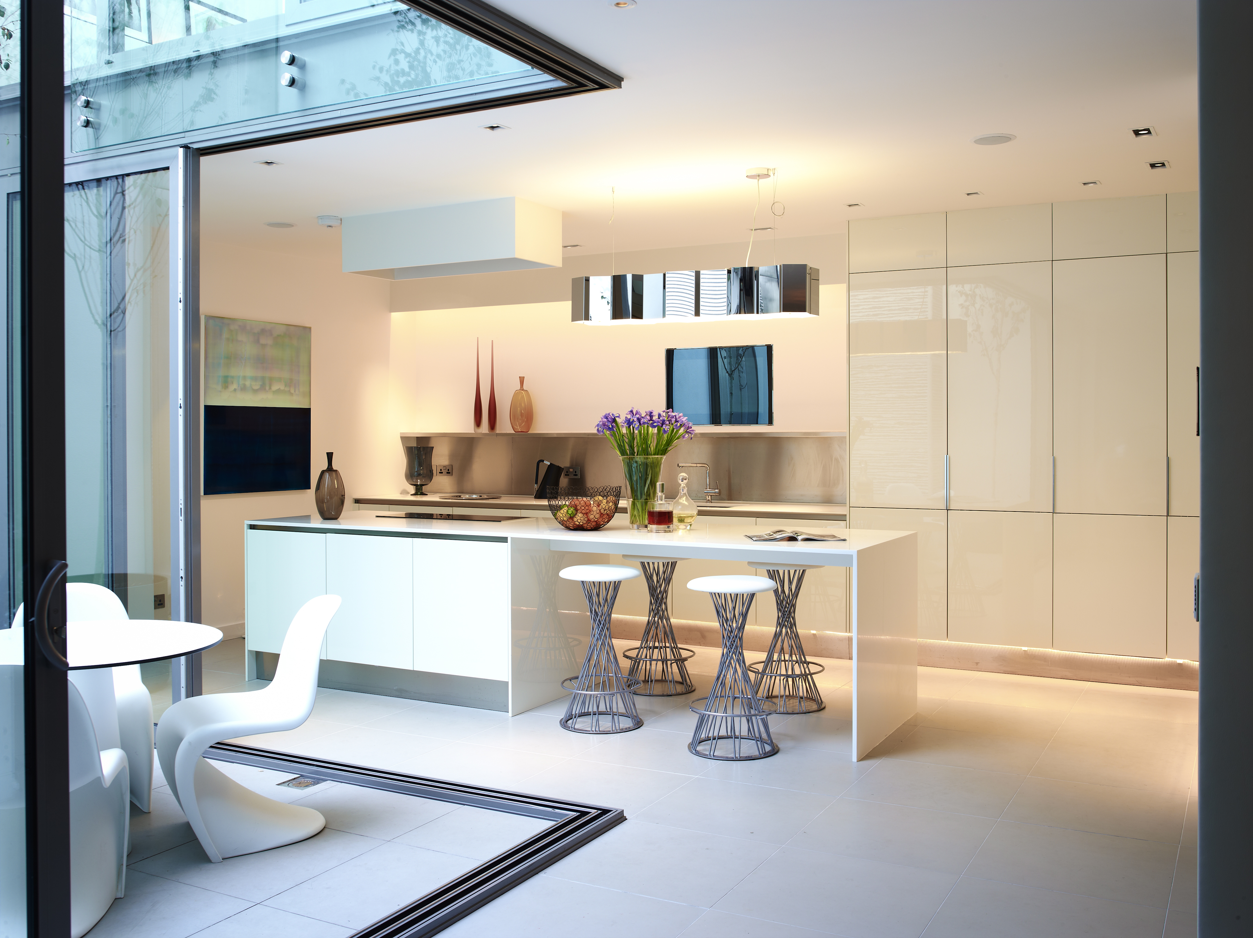 Kitchen Mayfair Mews Interior Design