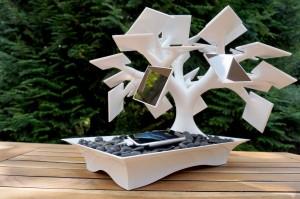 electree solar powered furniture