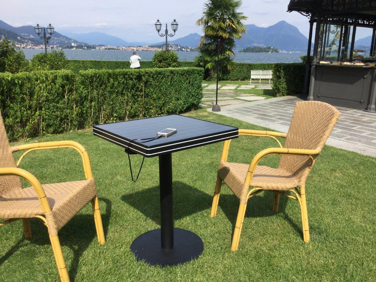 Sol NRG charging table