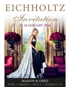 Eichholtz cordially invite you to the Maison & Obet Paris trade show