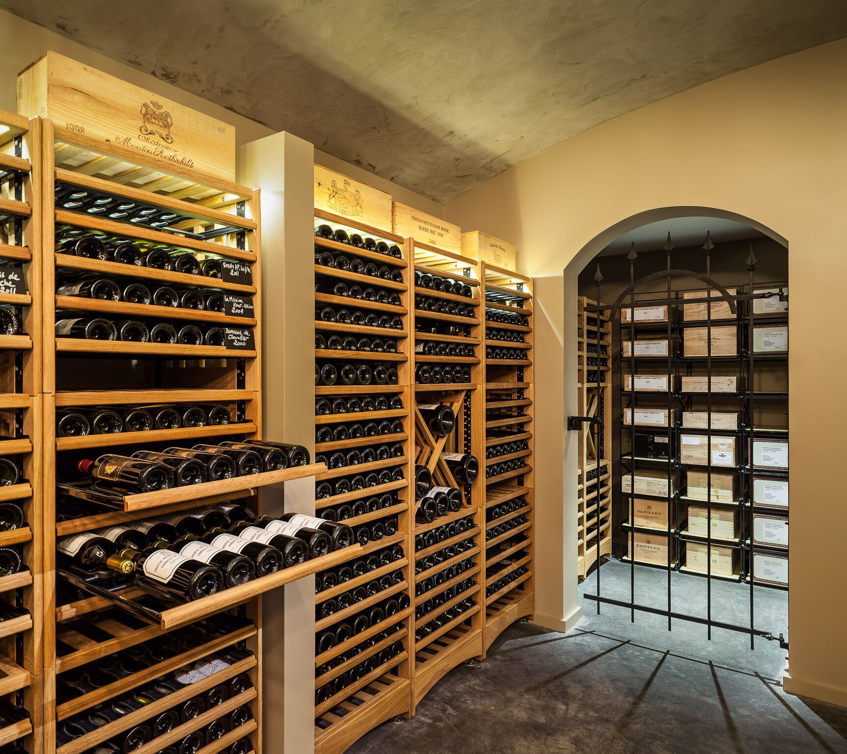 wine cellar callender howorth