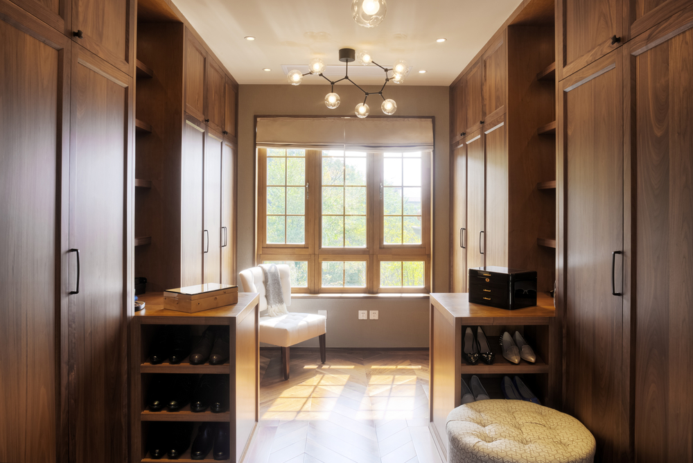 interior renovation Callender Howorth walk in wardrobe