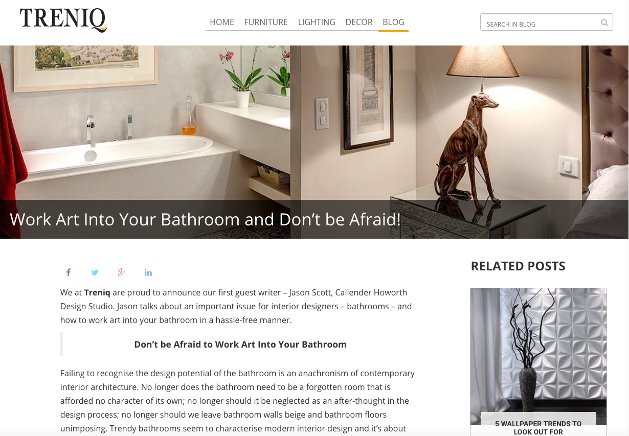 ... Interior Design Of Bathrooms. Read Article